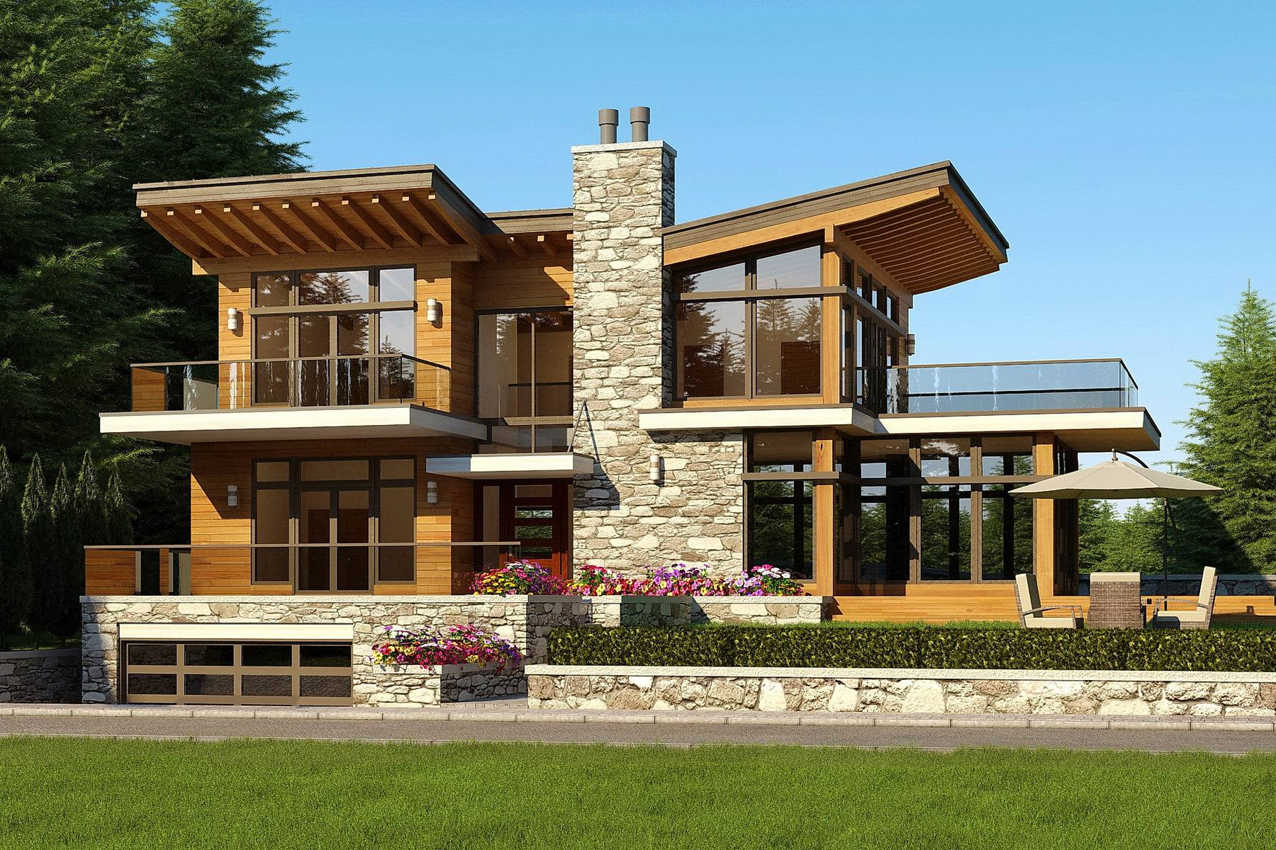 Alpine residential architect vancouver for Alpine home design